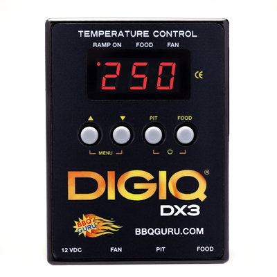 BBQ Guru DigiQ DX3 Temperature Control Kit