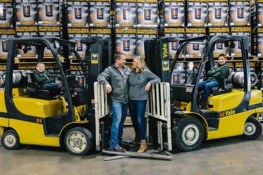 Noah & Amber Glanville oweners of Pit Barrel Cooker