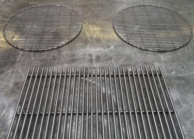 Stainless steel grills made by Que Fresco