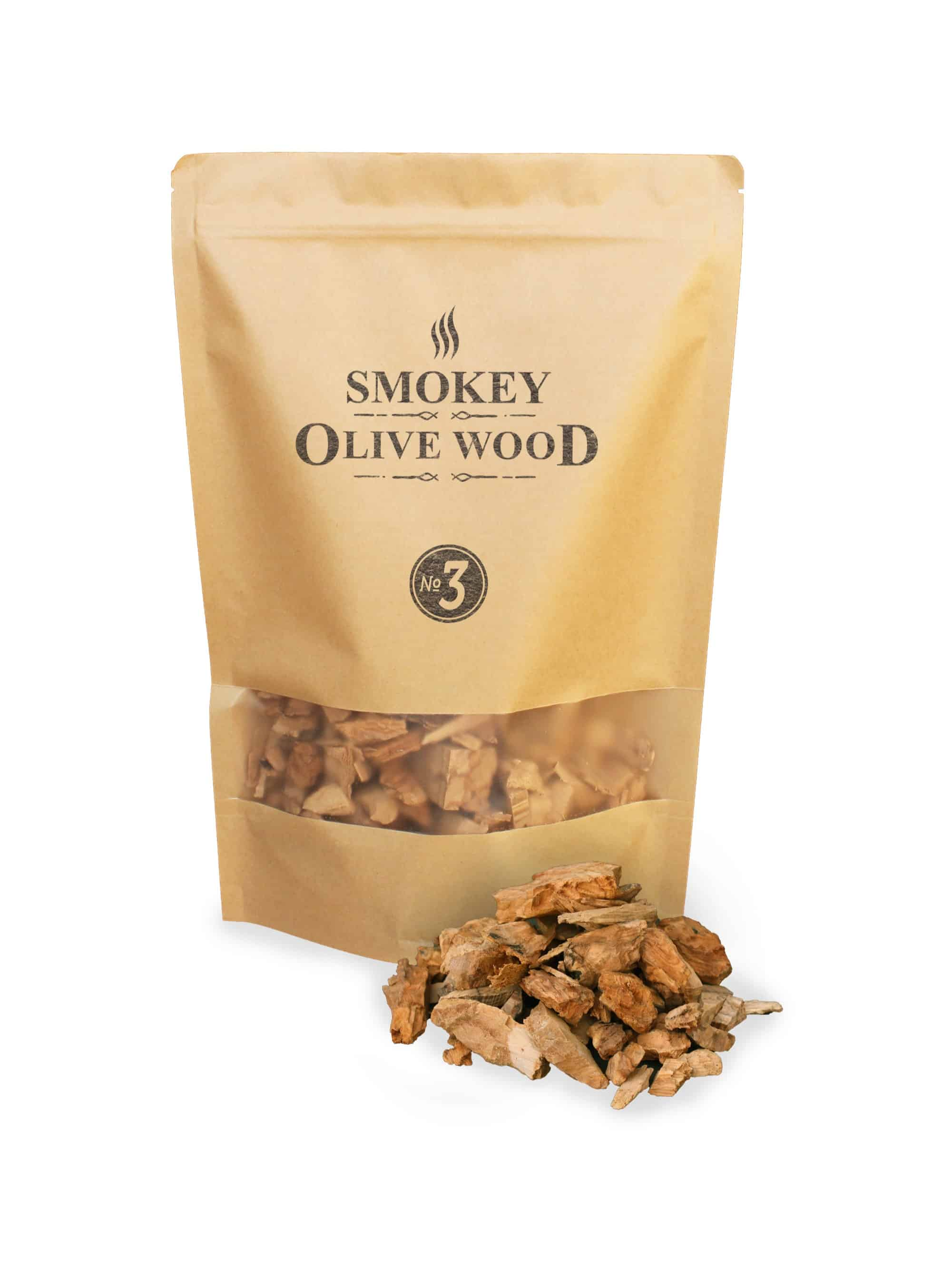 Smokey Olive Wood Chips For Smoking