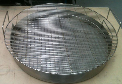 Replacement stainless steel grills