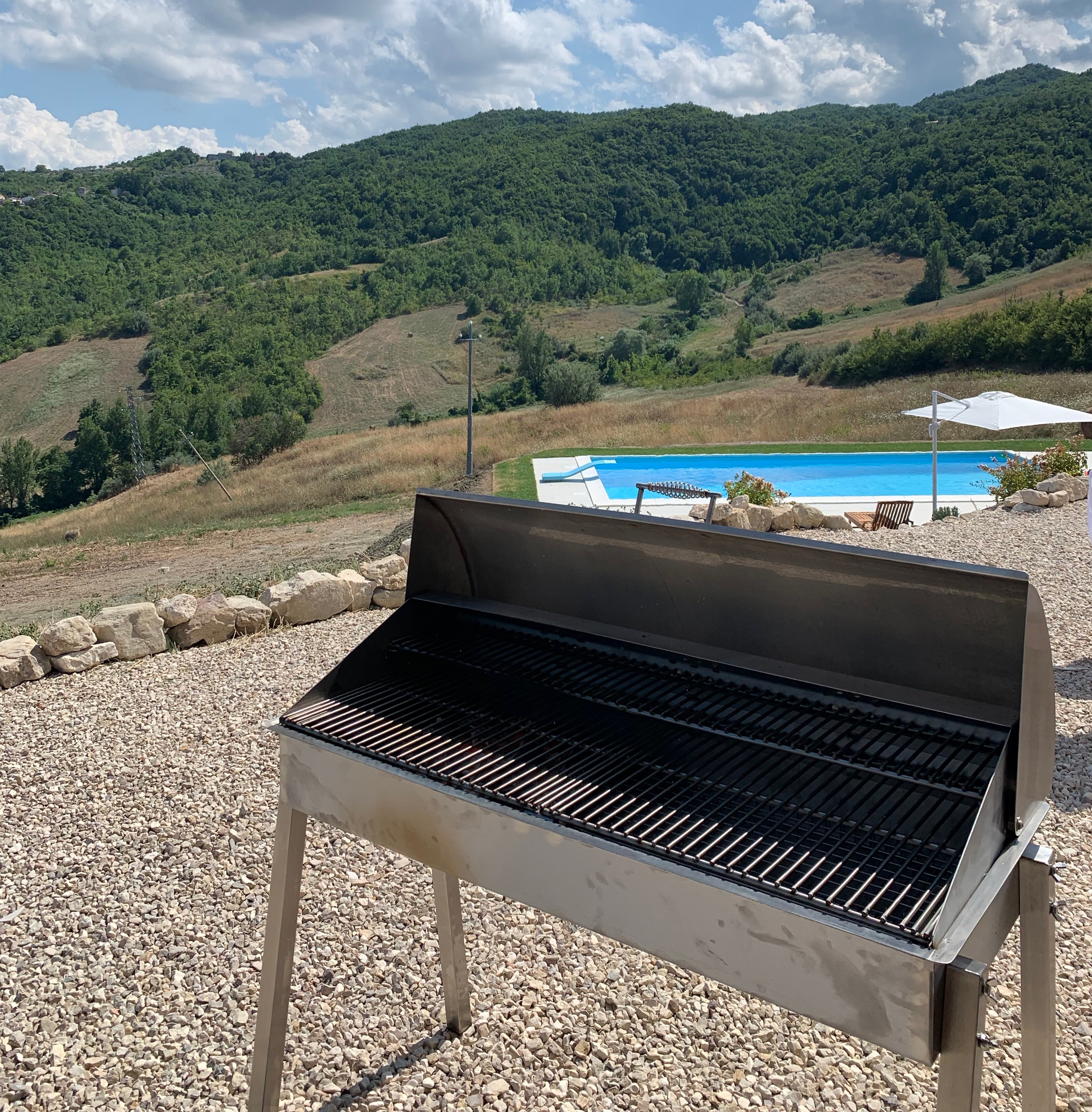 Que Fresco Stainless Steel Barbecues