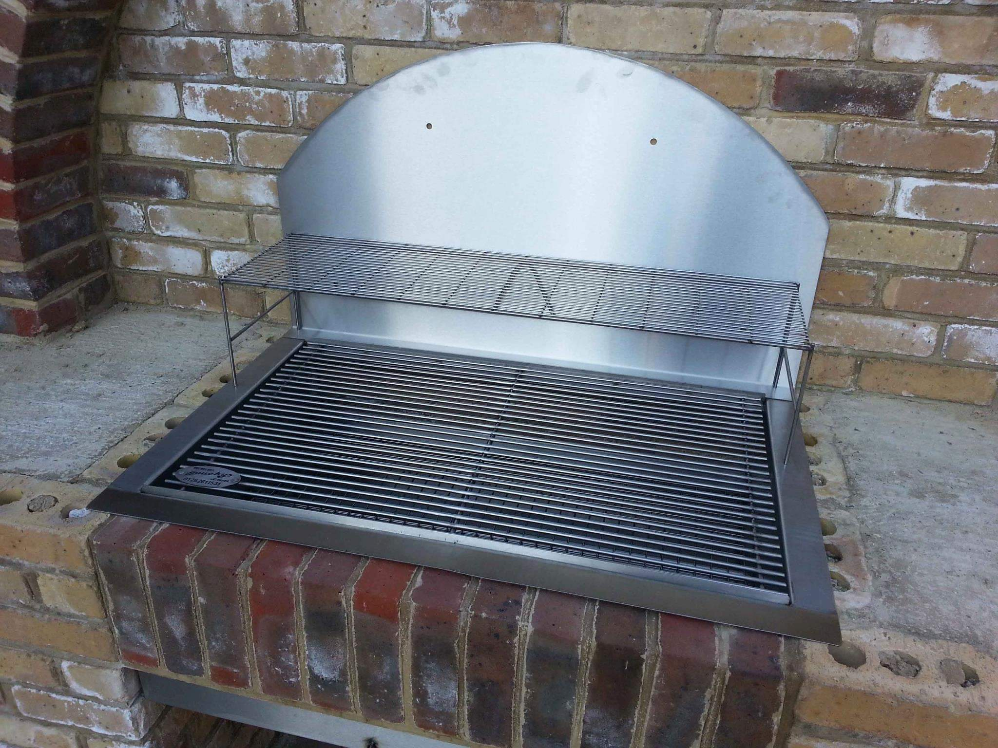 Que Fresco Sunken Stainless Steel BBQ Outdoor Kitchen