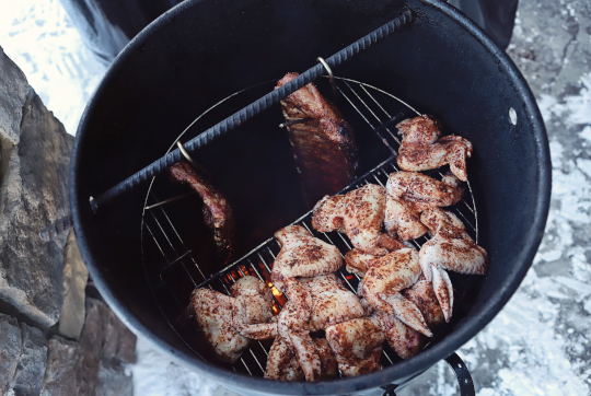 Grilling Chicken Wings on the Pit Barrel Cooker